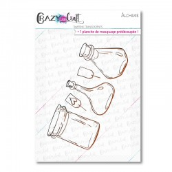 Alchimie - Tampons transparents photopolymère pour scrapbooking - Crazy Little Craft