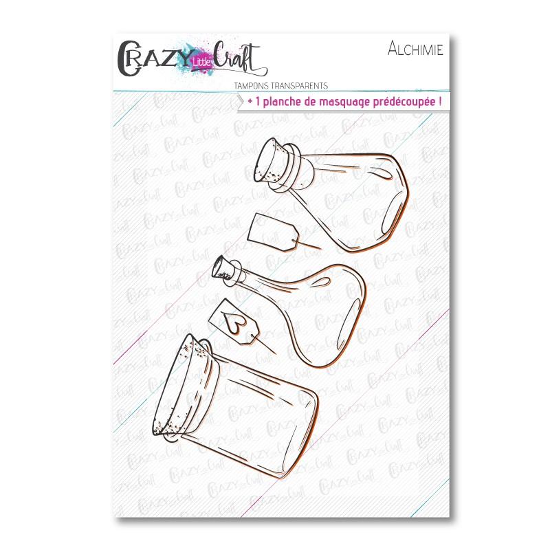 Alchimie - Tampons transparents photopolymère pour scrapbooking - Crazy Little Craft