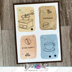 Carte café par Laety Sia