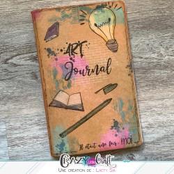 Couverture de Art Journal par Laety Sia