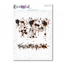 GraphiK'5 - Tampons transparents photopolymère pour scrapbooking - Crazy Little Craft