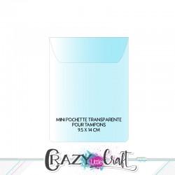 Pochette(s) de rangement pour tampons Clear petit format