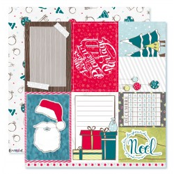 "Collection ""Noël acidulé"" papiers recto/verso n°11