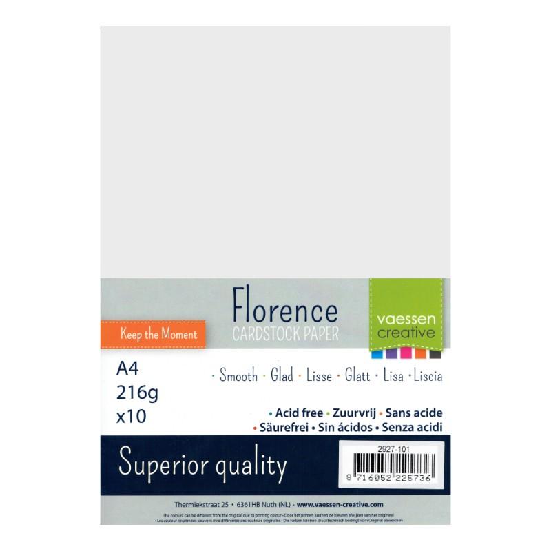 """Papiers """"Blanc cassé"""" format A4"""