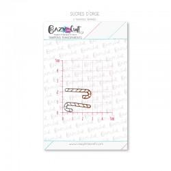 Sucres d'orge - Tampons transparents photopolymère pour scrapbooking - Crazy Little Craft