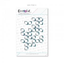 Mini fond 9 - Tampons transparents photopolymère pour scrapbooking - Crazy Little Craft