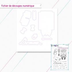 L'homme - Fichier de découpes numérique - Crazy Little Craft