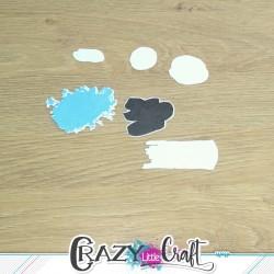 De tache en tache - Fichier de découpes numériques - Crazy Little Craft