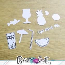 Cocktail de douceur - Fichier de découpes numériques - Crazy Little Craft