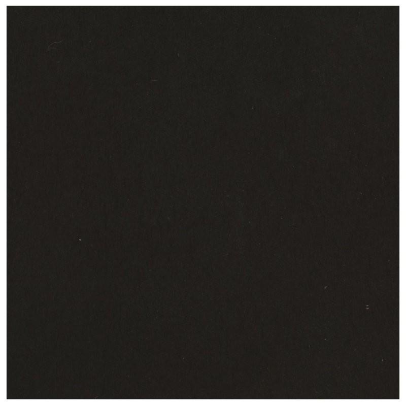 Papier uni - Noir - Vaessen Creative - Papier Florence