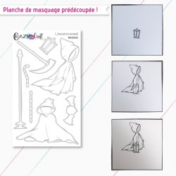 L'encapuchonné - planche de masquage Crazy Little Craft
