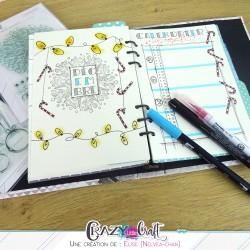 Décoration Bullet Journal, par Elise (Nelvea-chan)