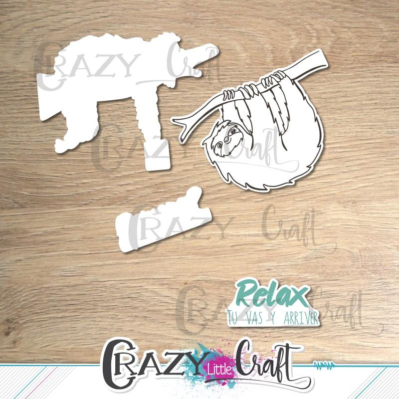 """Formes à découper pour machine numérique correspondant à la planche de tampons """"Relax"""""""